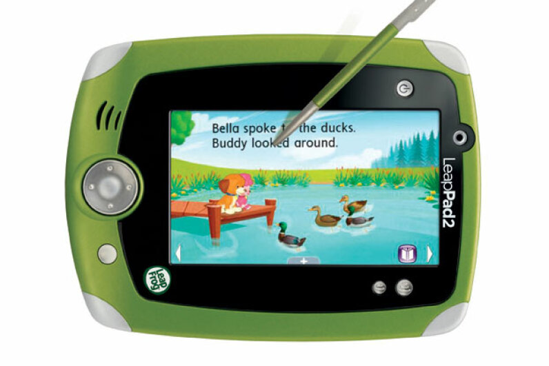 The LeapPad2 library includes more than 325 apps to make learning fun and engaging. Image courtesy LeapFrog