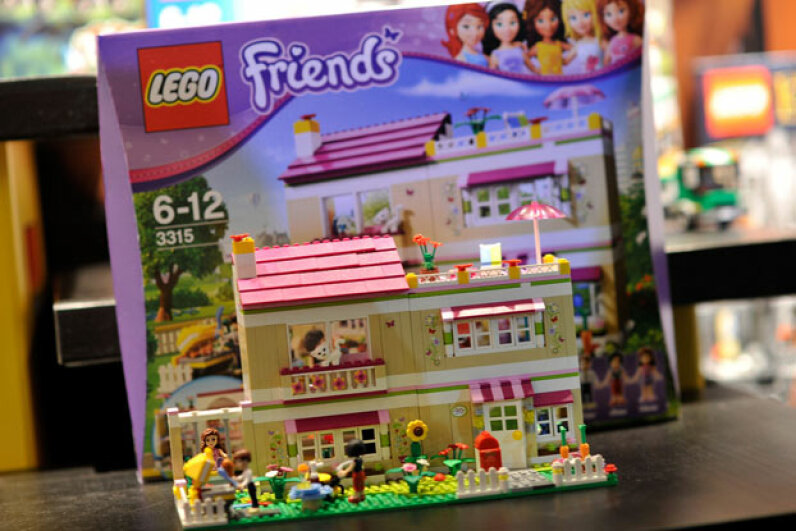 While the Lego Friends toys have drawn criticism for gender bias, sales of the product line have been very strong. ©Gareth Cattermole/Getty Images