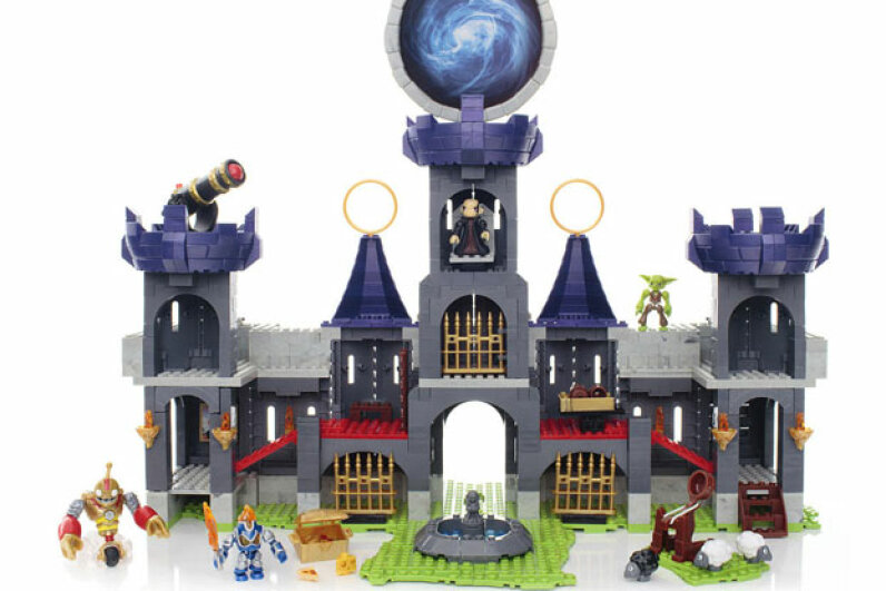 The Dark Castle Conquest set is huge and filled with cool details and can be combined with other Mega Bloks Skylander cosntruction sets.    ©Mega Brands Inc.