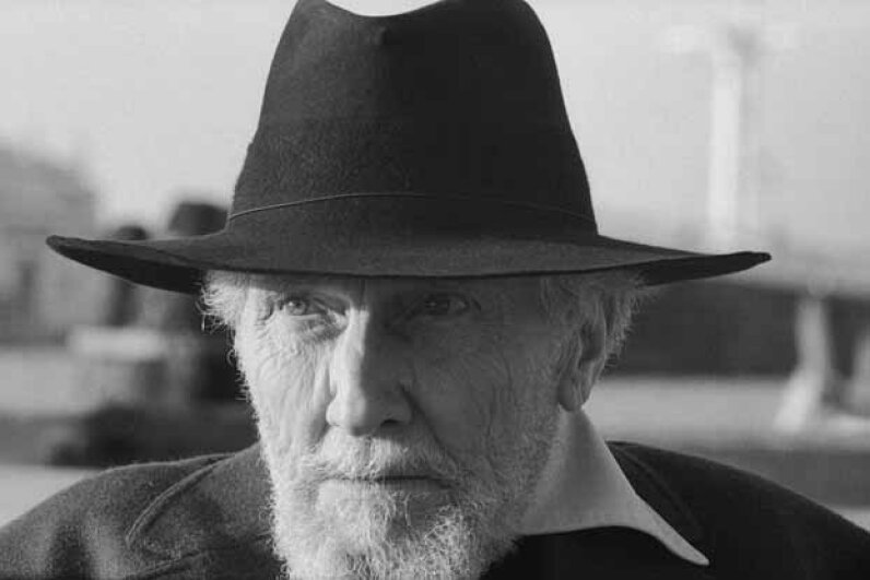 A 1964 portrait of Ezra Pound in Italy. © David Lees/CORBIS