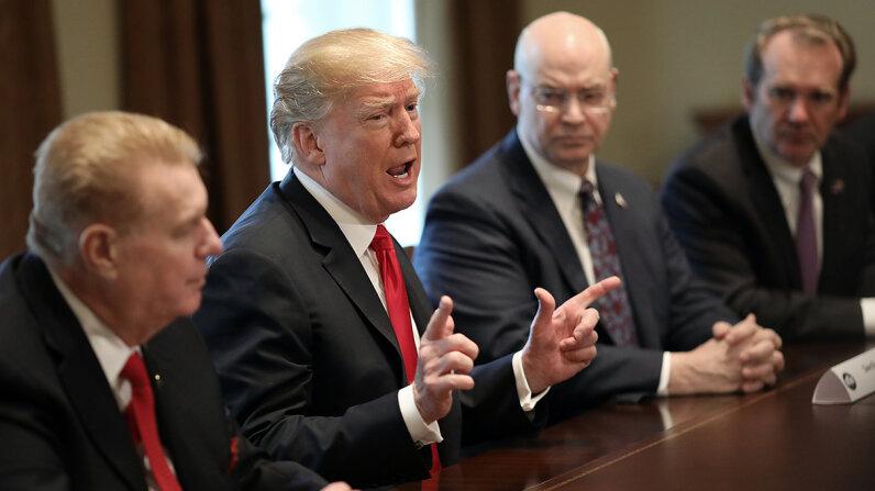 steel and aluminum tariffs Donald Trump