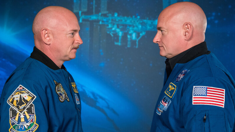 NASA twins Mark Kelly and Scott Kelly