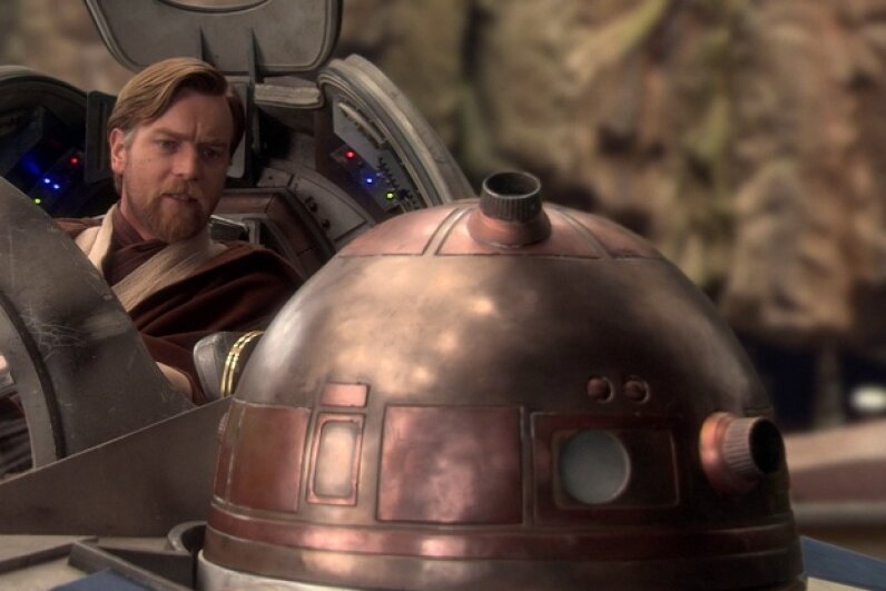R4-G9 was present for many pivotal moments in the saga, but can we talk about that gorgeous dome?  Screen capture by HowStuffWorks