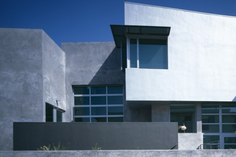 Would Edison approve of this modern day concrete house located in Marina del Rey, Calif.? © Arcaid/Corbis