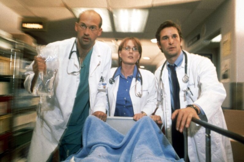 """ER"" made for great TV drama, but the medical science wasn't always on point. © 2001 Warner Bros. International"