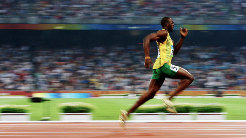 usain bolt, sprint, 200 meters, olympics