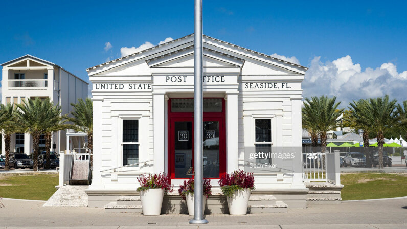 post office in Seaside, Florida