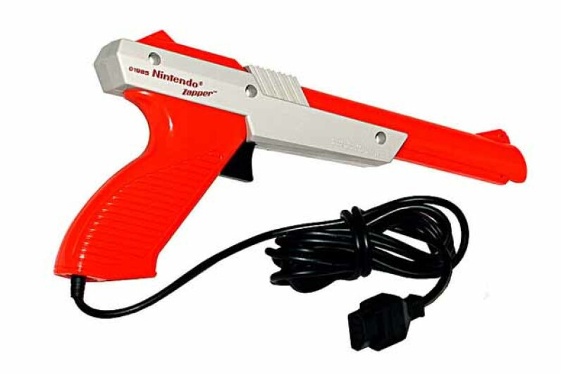 This ubiquitous gun was part-and-parcel of the Nintendo Entertainment System's Duck Hunt game. JCD1981NL/Wikimedia Commons