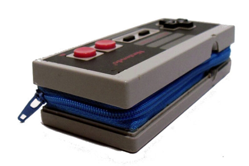 The versatile NES controller can also be transformed into a wallet. OneUpGallery/Etsy