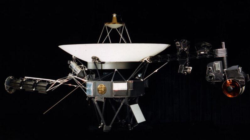 Voyager, the interstellar traveler