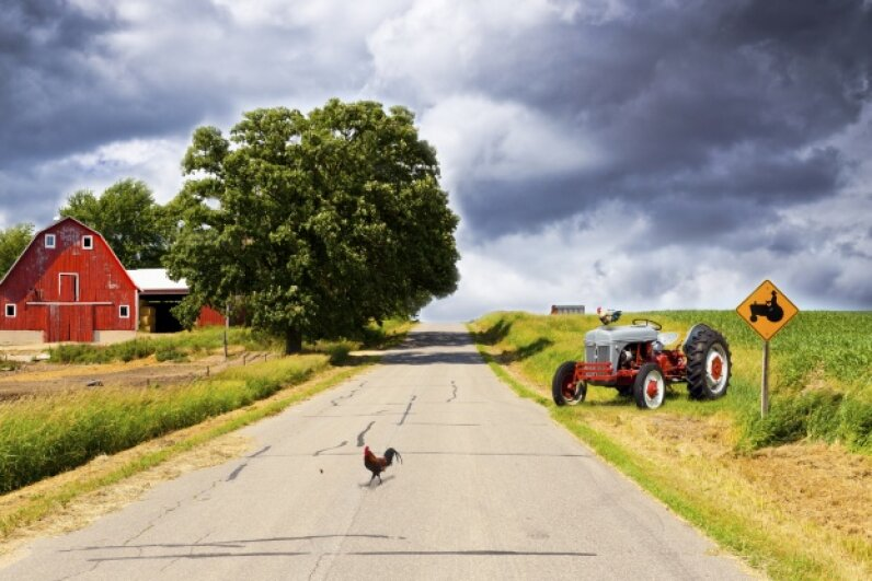 Of course rain doesn't follow the plow, but that's not the craziest weather superstition we've come up with, not by a long shot. Maksymowicz/iStock/Thinkstock