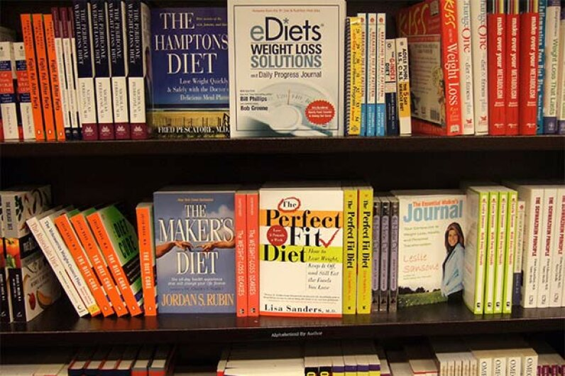 Your local Barnes & Noble will stock a wide variety of diet books; yet, studies show that all diets cause about the same amount of weight loss. © Jerry Arcieri/Corbis