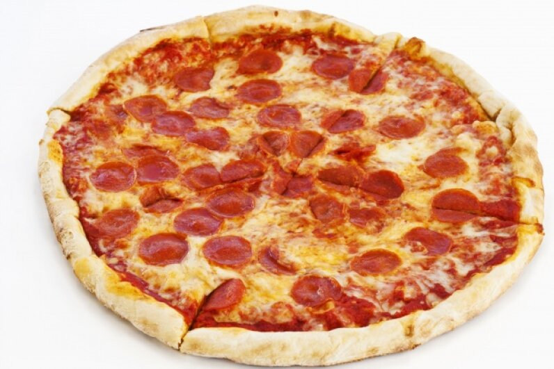 We've loved pepperoni and mozzarella on pizza for years, so why not throw it in the bird? © Tetra Images/Corbis