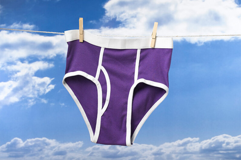 Some people are worried about the possible radiation risk smartphones present to their brains; others are worried about the risk to their manhoods. At least two companies are developing radiation-shielding underwear. stuartbur/iStock/Thinkstock