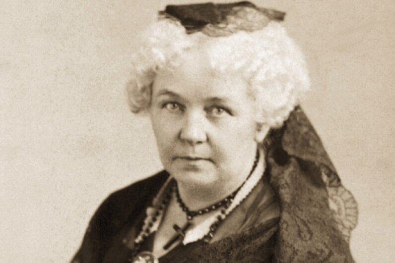 Elizabeth Cady Stanton was not above delivering a snarky jab to Congress. Bettmann/Contributor/Getty Images