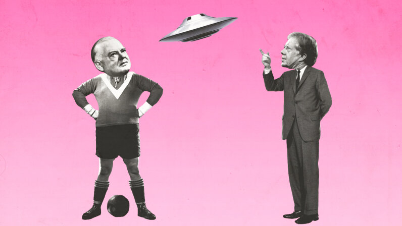 Herbert Hoover, Jimmy Carter, UFO