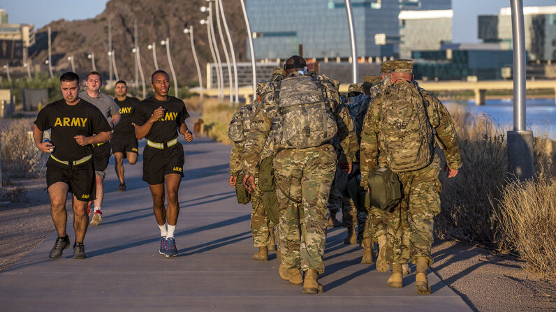 army soldiers fitness trackers