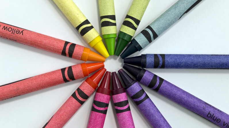 Color wheel, color theory
