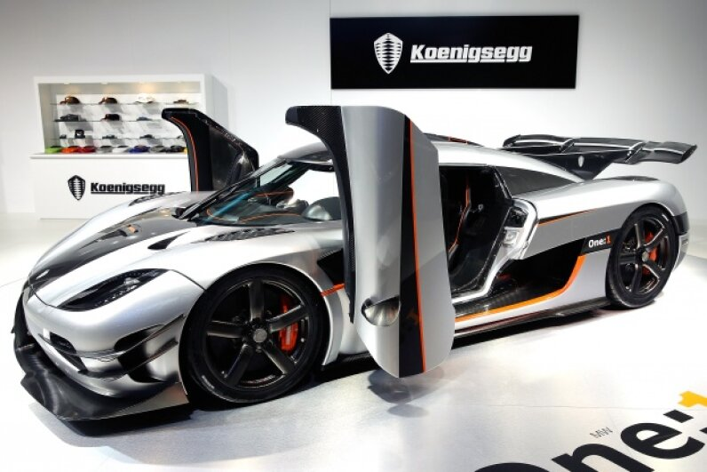 The Koenigsegg One:1 has to be worth it, right? Lintao Zhang/Getty Images