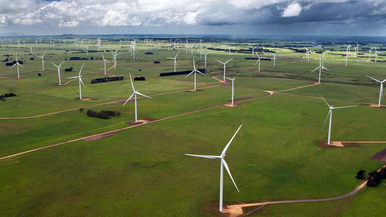 Australia wind farm