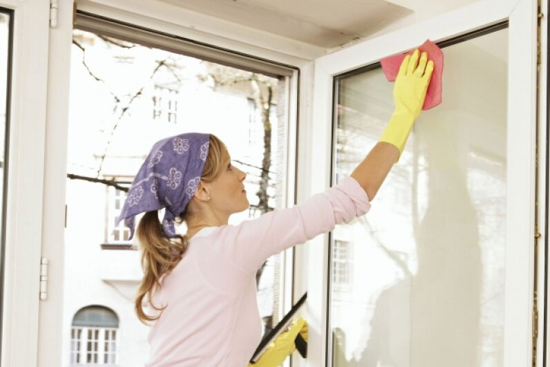 Washing windows may not be glamorous, but the right methods will make it easier and ensure the best results. © Oscar Abrahams/beyond/Corbis