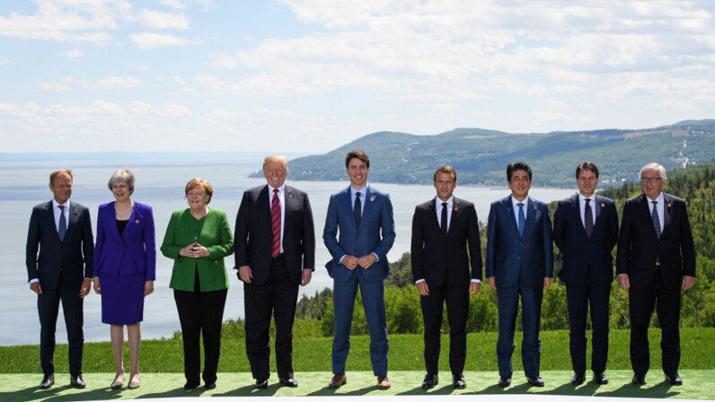 British Prime Minister Theresa May, German Chancellor Angela Merkel, G7, Canada