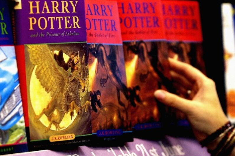 "It's a safe bet that the 12 publishing firms who turned down J.K. Rowling's first ""Harry Potter"" book are all regretting the decision. ©Graeme Robertson/Getty Images"