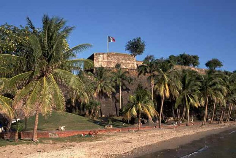 Fort Saint-Louis, Martinique.
