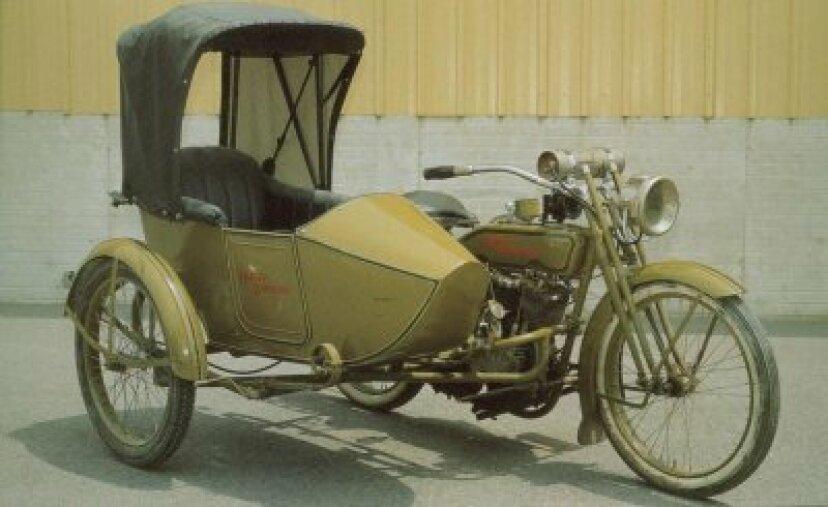 1918年ハーレーダビッドソン18-J