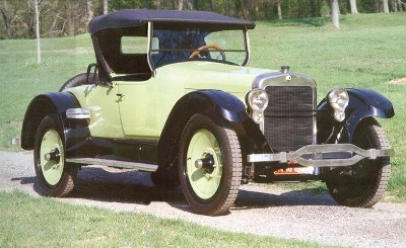 1922年ウィルズサントクレアA-68ロードスター