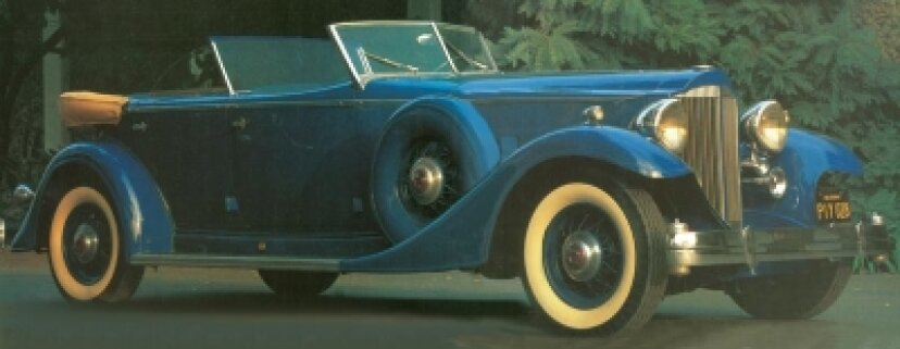 1933パッカード12スポーツフェートン