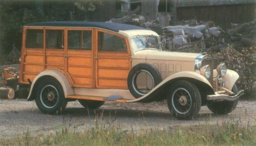 1933年レオスピードワゴンモデルBN