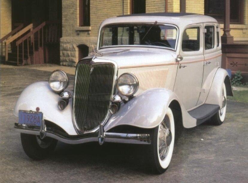 1934年フォードデラックスフォード