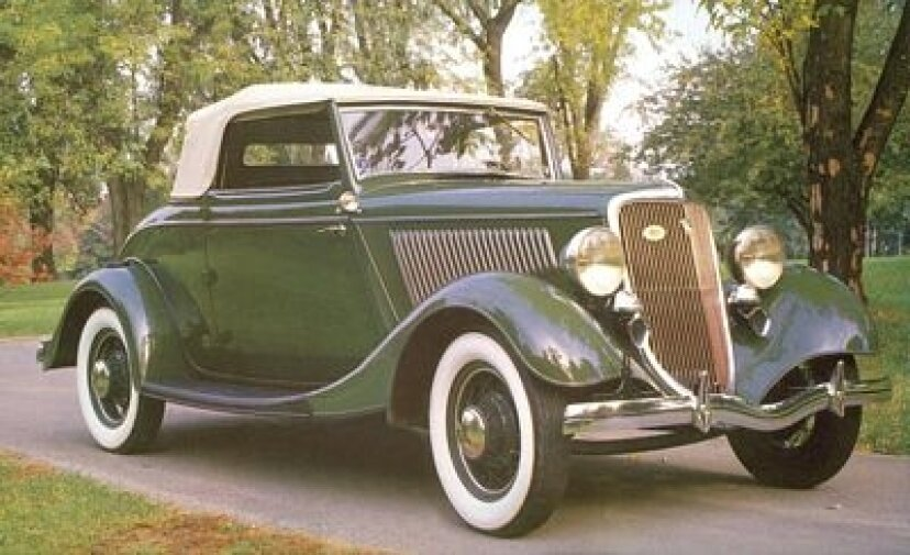1934年フォードデラックスロードスター