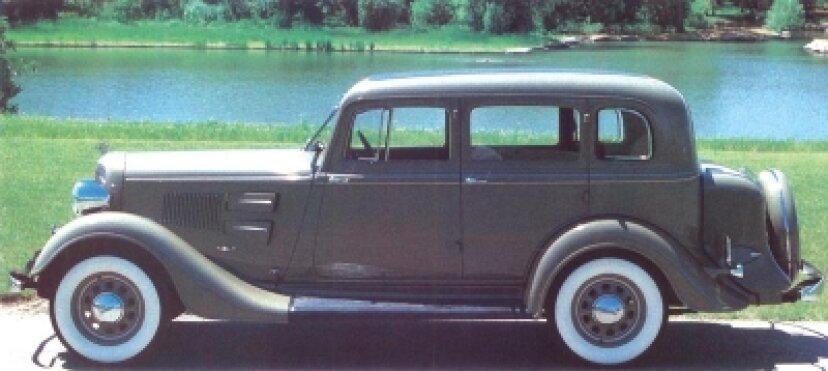 1934年プリマスPEデラックス