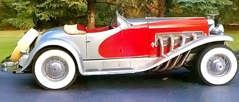 1936年デューセンバーグSSJスピードスター