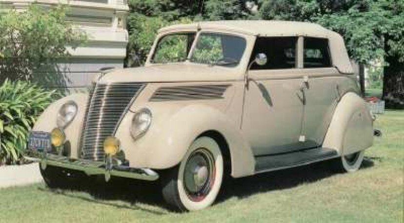 1937-1938フォード
