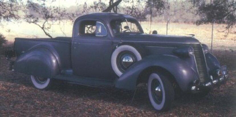 1937-1938スチュードベーカークーペ-エクスプレス