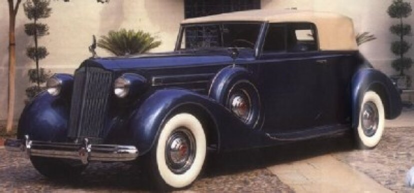 1937パッカード1507ディートリッヒコンバーチブルビクトリア