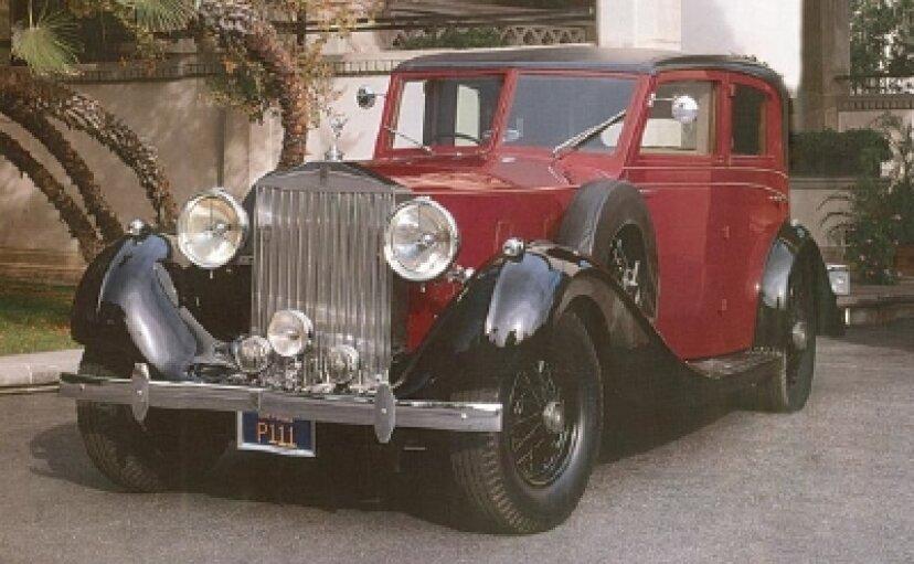 1937年ロールスロイスファントムIIIツーリングリムジン