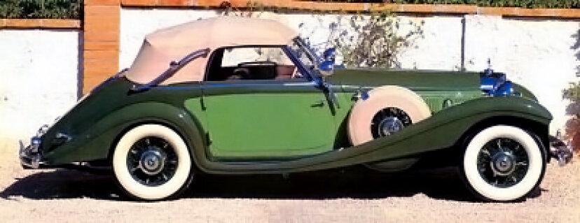 1938年メルセデスベンツ540KカブリオレA