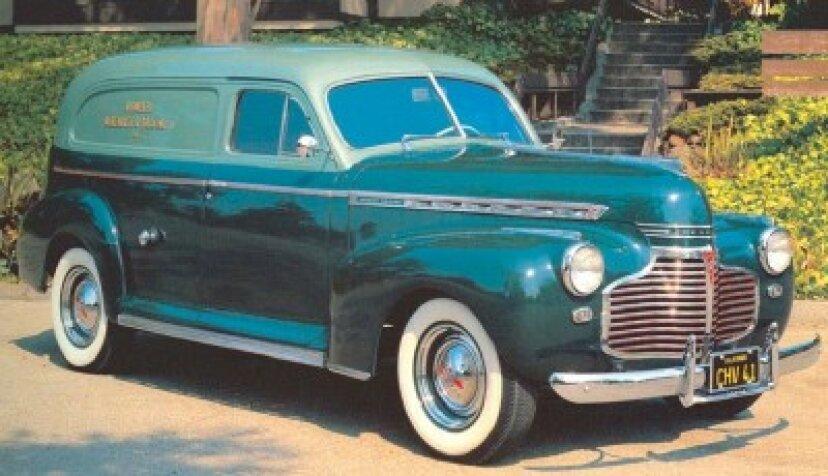 1941シボレーシリーズAGセダンデリバリーとクーペピックアップ