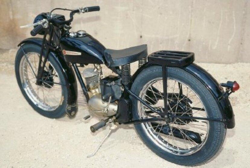 1948年ハーレーダビッドソンS-125
