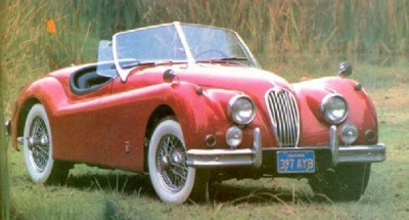 1949-1961ジャガーXKスポーツカー
