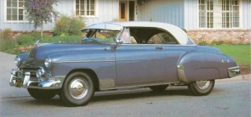 1950-1952シボレーベルエアーの紹介