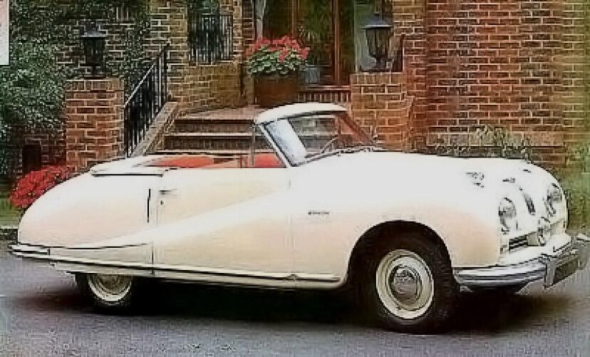 1950オースチンA90アトランティックコンバーチブル