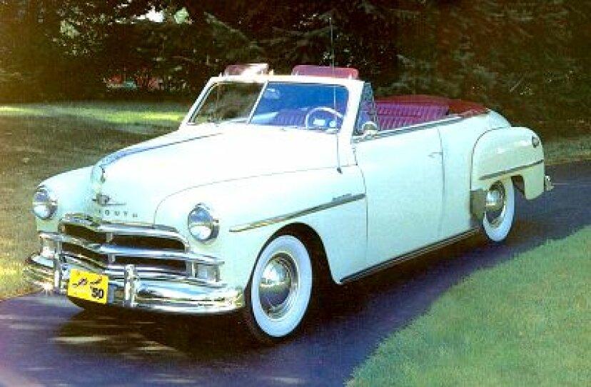 1950プリマススペシャルデラックスコンバーチブル