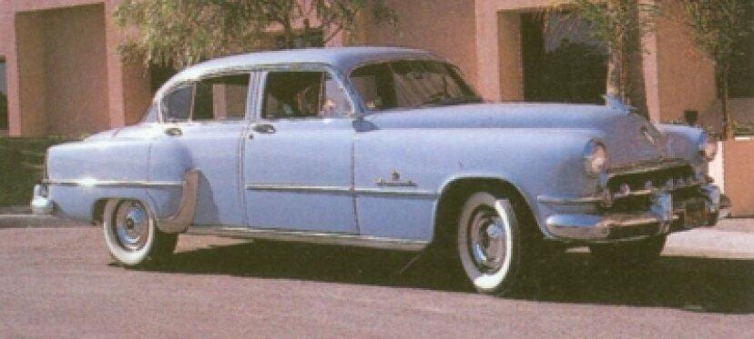 1951、1952、1953、1954クライスラーインペリアル