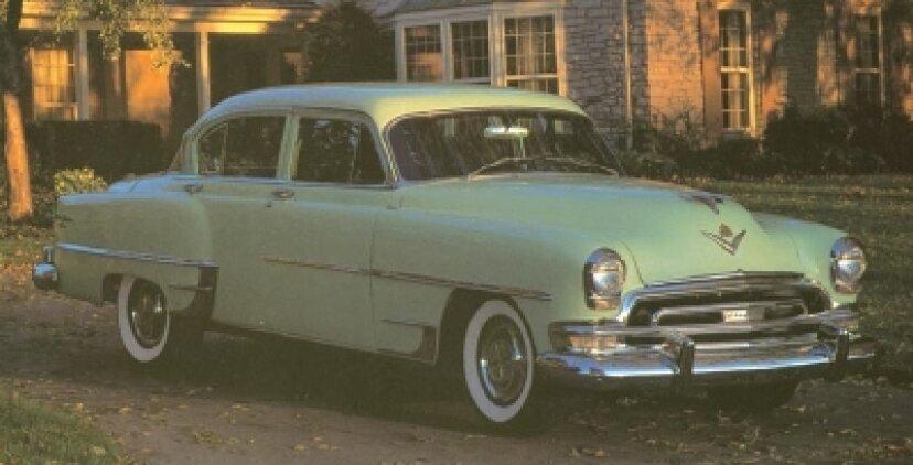 1951、1952、1953、1954クライスラーニューヨーカー
