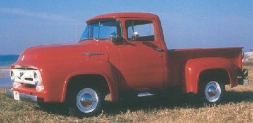 1956フォードF-100ピックアップ